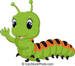Funny caterpillar
