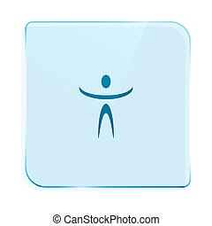 Funny character icon - Funny character stock vector icon...
