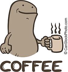 Funny coffee - Creative design of funny coffee