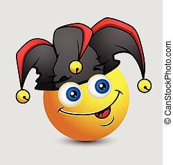 Funny Comic Jester Emoji