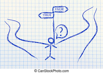 true or false - funny conceptual design, true or false