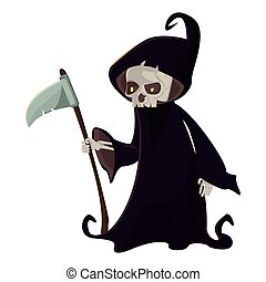 funny costume of death halloween character
