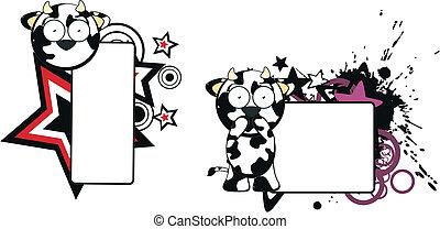 funny cow cartoon copyspace3