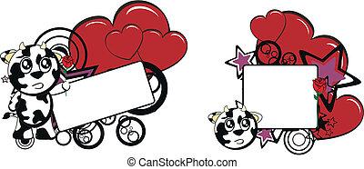 funny cow cartoon copyspace7