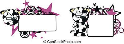 funny cow cartoon copyspace8