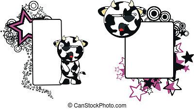 funny cow cartoon copyspace9