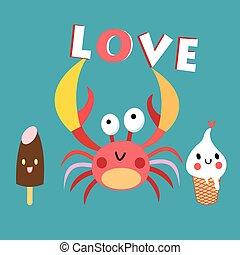 funny crab