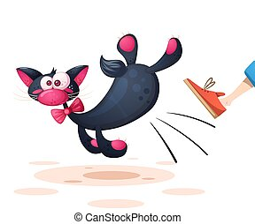 Funny, cute, pretty cat characters.