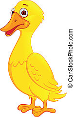 Funny Duck - Vector Illustration Of Funny Duck