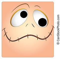 Funny Face Box Smiley