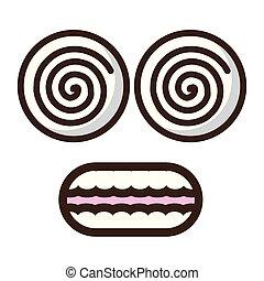 funny face crazy eyes
