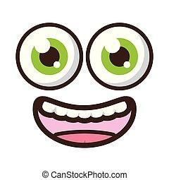 funny face eyes