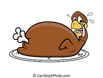 Funny Face Turkey Chicken