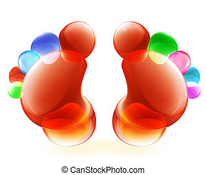 Funny Feet, 10eps