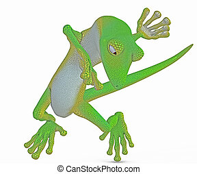 funny gecko