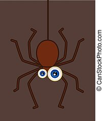 Funny Hanging Spider
