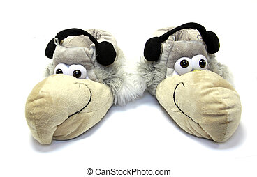 Funny house slippers