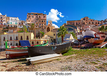 Castellammare del Golfo, Sicily, Italy - Funny houses and ...