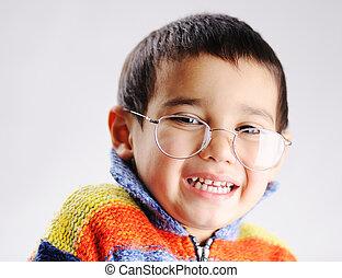 funny kid boy