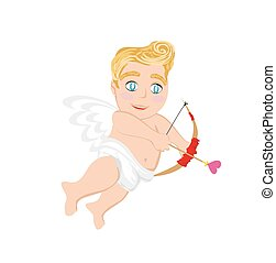 Funny little cupid