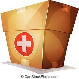 Funny Medicine Box For Ui Game