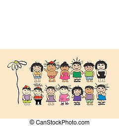 Funny peoples, cartoon