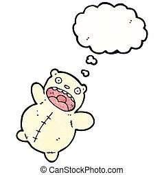 funny polar bear teddy