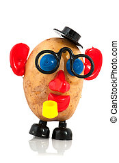 potato head - funny potato head with face from toys