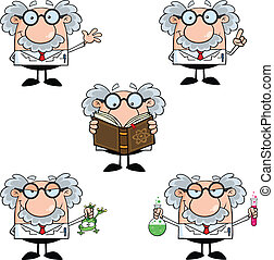Funny Professor 2 Collection Set - Funny Scientist Or...