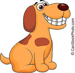 funny puppy cartoon