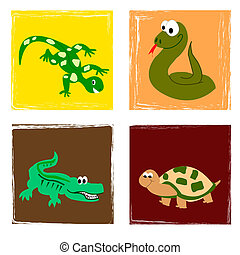 reptiles - Funny reptiles