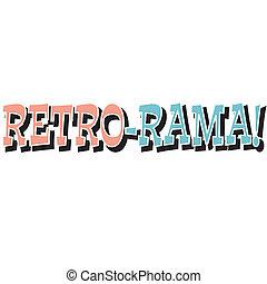 Funny Retro Vintage Sign Clip Art
