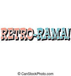 Funny Retro Vintage Sign Clip Art