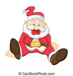 Funny Santa Laughing