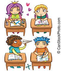 Funny schoolchildren 1