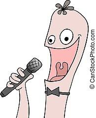 funny singer