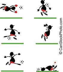 Funny Soccer Player
