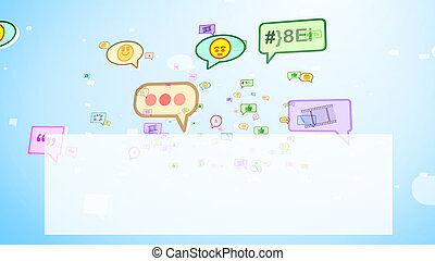 Funny Social Bubbles Soaring on Screen