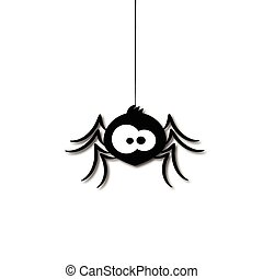 funny spider cartoon for you design illustration