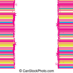 Funny striped background seamless. Place your text here.