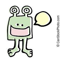 Funny talking - Creative design of funny talking