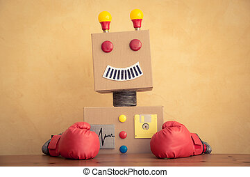 Funny toy robot