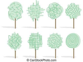 Funny tree set