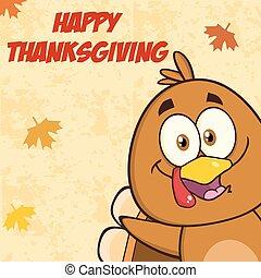 Funny Turkey Bird