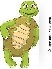 Funny Turtle.