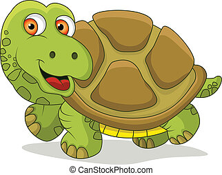 funny turtle cartoon