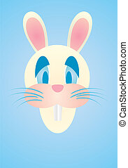 funny vector easter bunny eps8