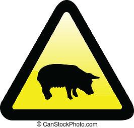 funny warning sign