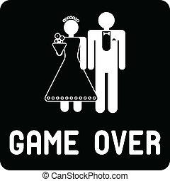 Funny wedding symbol