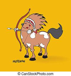 funny zodiac sign sagittarius - unusual cute looking...